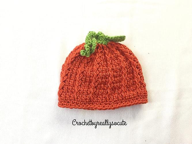 Amazoncom Baby Hat Baby Pumpkin Hat Baby Photo Prop Newborn