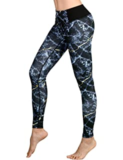 786eec5543e4a4 DOVPOD Printed Yoga Pants High Waist Fitness Plus Size Workout Leggings  Tommy Control Capris for Women