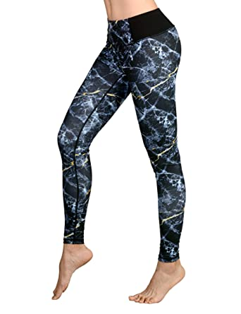 5ea2518014a Image Unavailable. Image not available for. Color  DOVPOD Printed Yoga  Pants High Waist Fitness Plus Size Workout Leggings ...