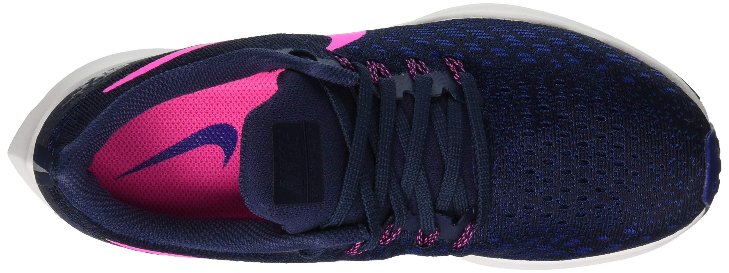 Nike Air Zoom Pegasus 35, Women's Running, Multicolored (Obsidian/Pink Blast/Deep Royal Blue 401), 4 UK (EU) by Nike (Image #7)