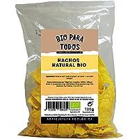 Bio para todos Nachos Naturales Bio - 20 Paquetes de 125 gr - Total: 2500 gr