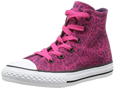 Converse Chuck Taylor All Star Hi Top Cosmos Pink Youths 11