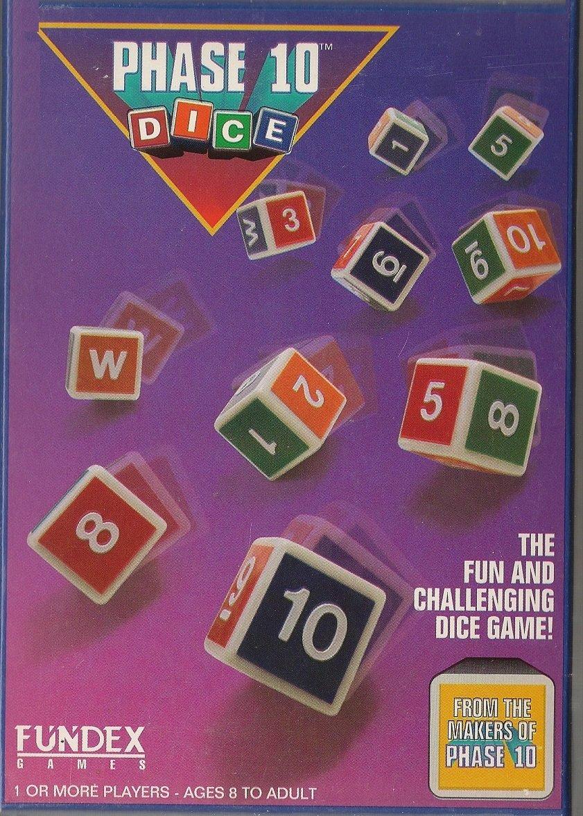 【本物保証】 Phase 10 Score Dice; a a Roll & B003CBYCNK Score Dice Game by Fundex B003CBYCNK, MTK:f2cbbc32 --- cliente.opweb0005.servidorwebfacil.com
