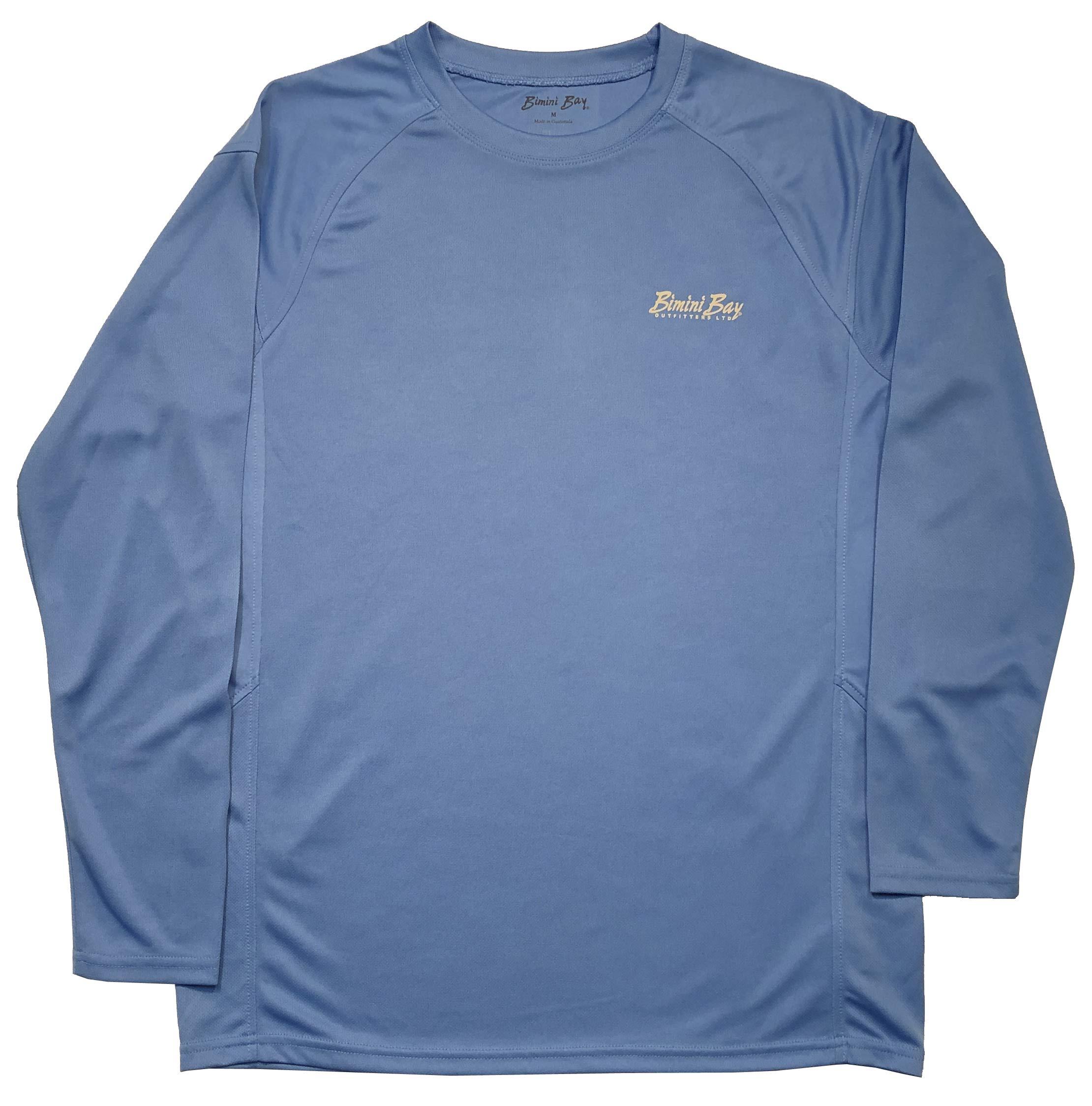 Bimini Bay Cabo Crew II Long Sleeve Shirt (X-Large, Marine) by Bimini Bay Outfitters