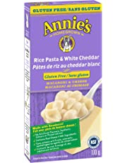 Annie's Homegrown Gluten Free Rice Pasta & White Cheddar Macaroni & Cheese, 170 Grams