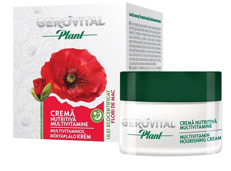 Amazon gerovital plant multivitamin nourishing cream 50 ml amazon gerovital plant multivitamin nourishing cream 50 ml 169 fl oz beauty mightylinksfo