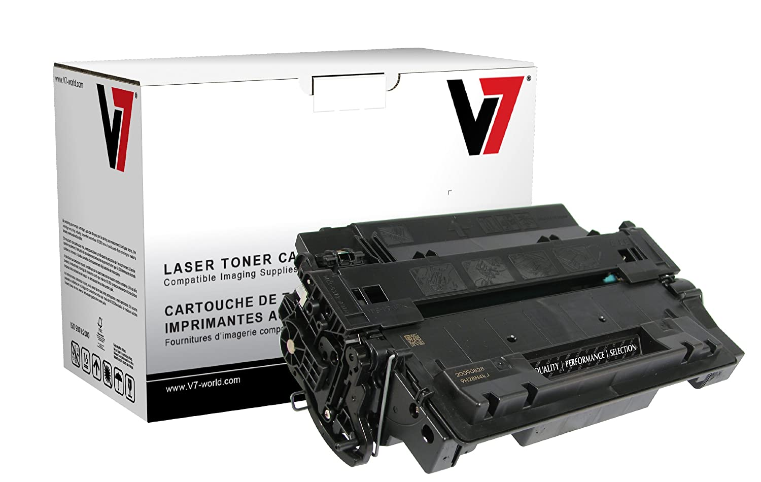 V7 THK26015 Laser Toner for HP Printers (Replaces CB380A (HP