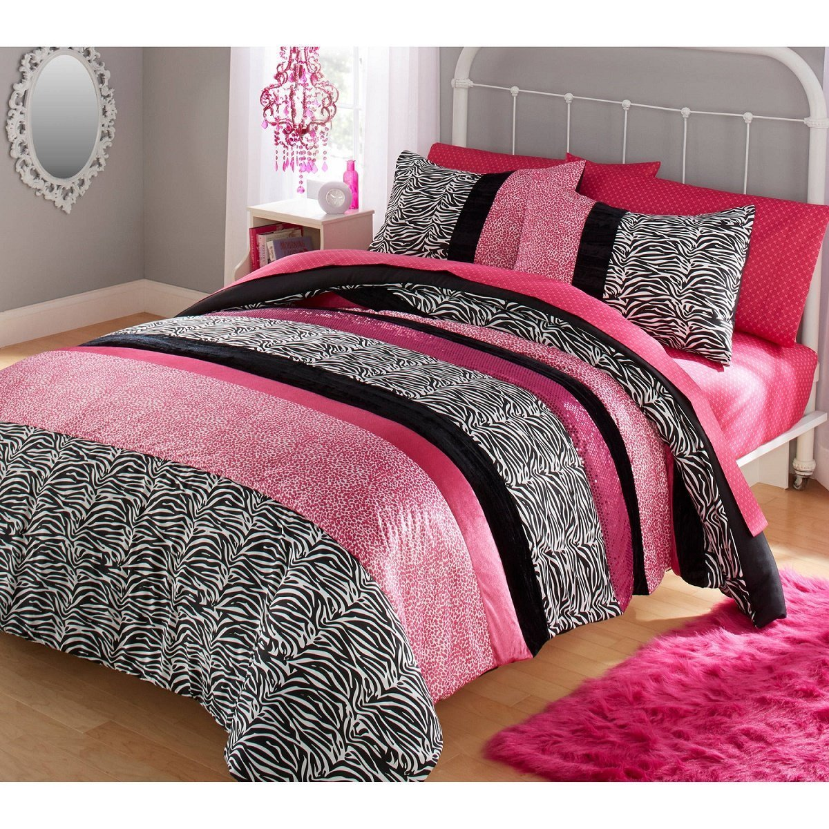 Your Zone TWO Piece Zebra Comforter Set by Your Zone (Image #1)