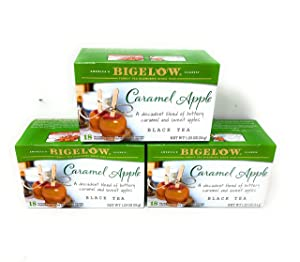 Bigelow Tea 3 Packs (Black Tea - Caramel Apple)