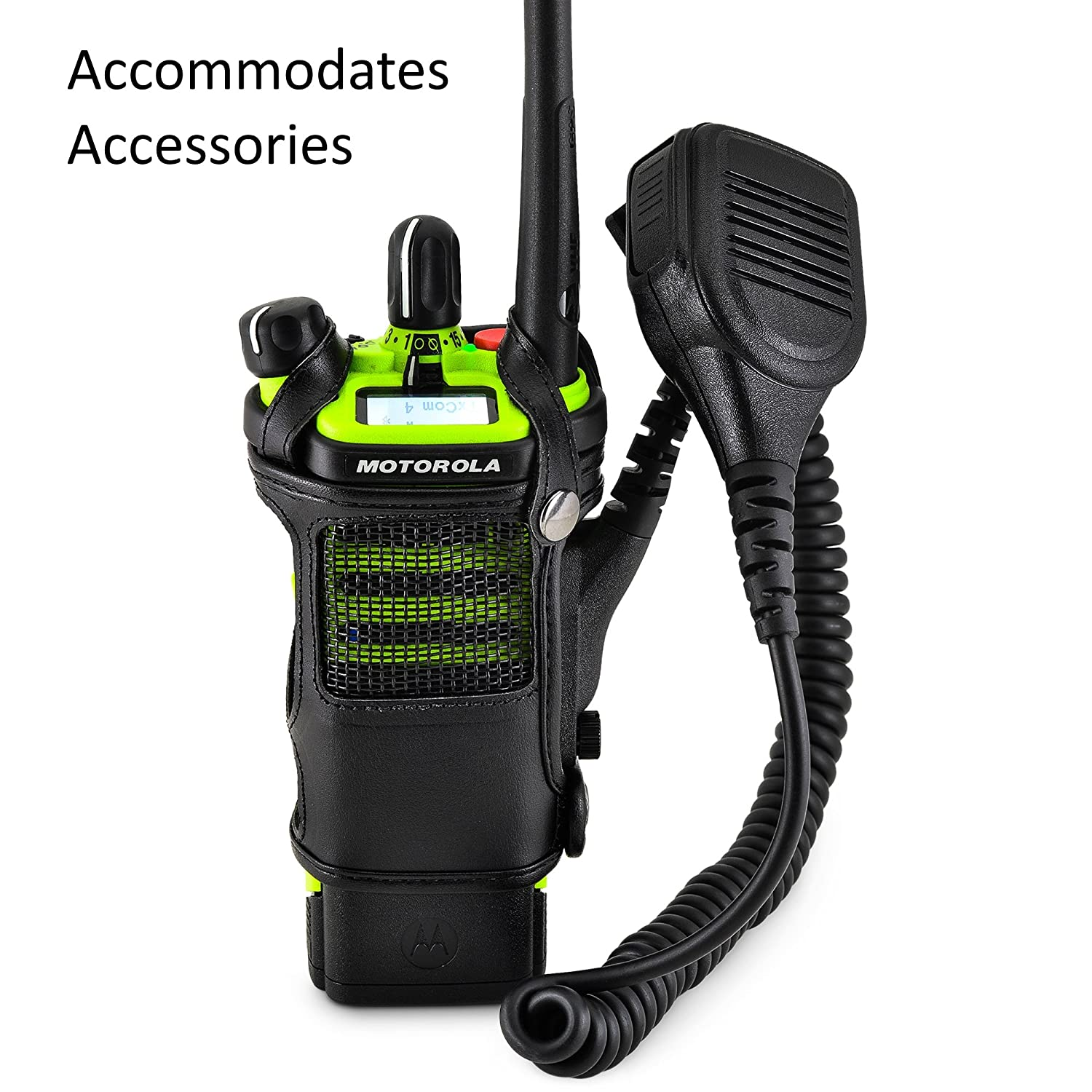 Radio holder motorola apx 6000 - Amazon Com Turtleback Motorola Apx 6000xe Belt Carry Holder Case Black Leather Duty Belt Holster With Heavy Duty Rotating Belt Clip Made In Usa Cell