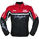Vega JK 21 Riding Jacket (Red, XXL)