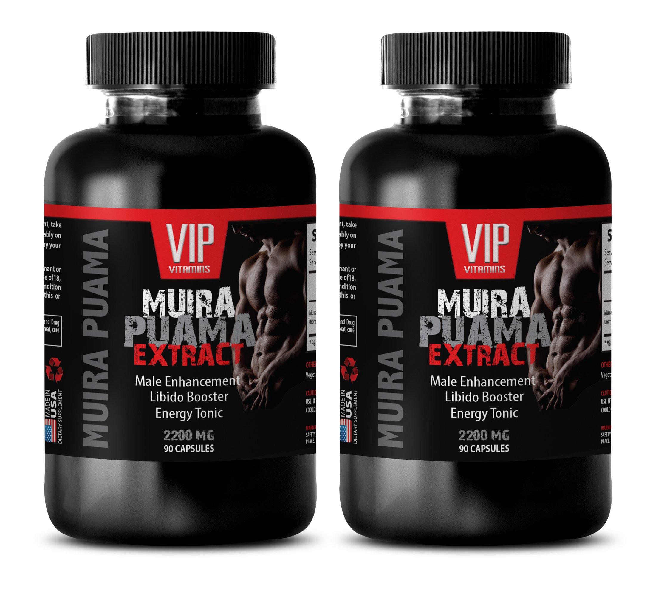 pills for men to last longer - MUIRA PUAMA - brain memory - 2 Bottles (180 Capsules) by VIP Supplements