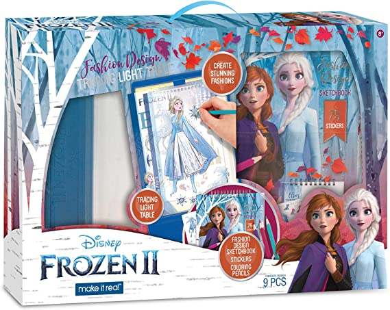 Make It Real Disney Frozen 2 - Mesa de luz con diseño de Frozen ...
