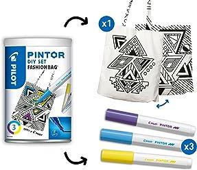 "PILOT PINTOR - DIY Set ""Fashion Bag"""
