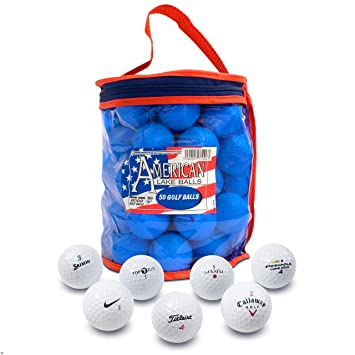 Second Chance 50-B-BAG - Set de 50 bolas de golf recuperadas de lagos   Amazon.es  Deportes y aire libre 10bd70492b1c6