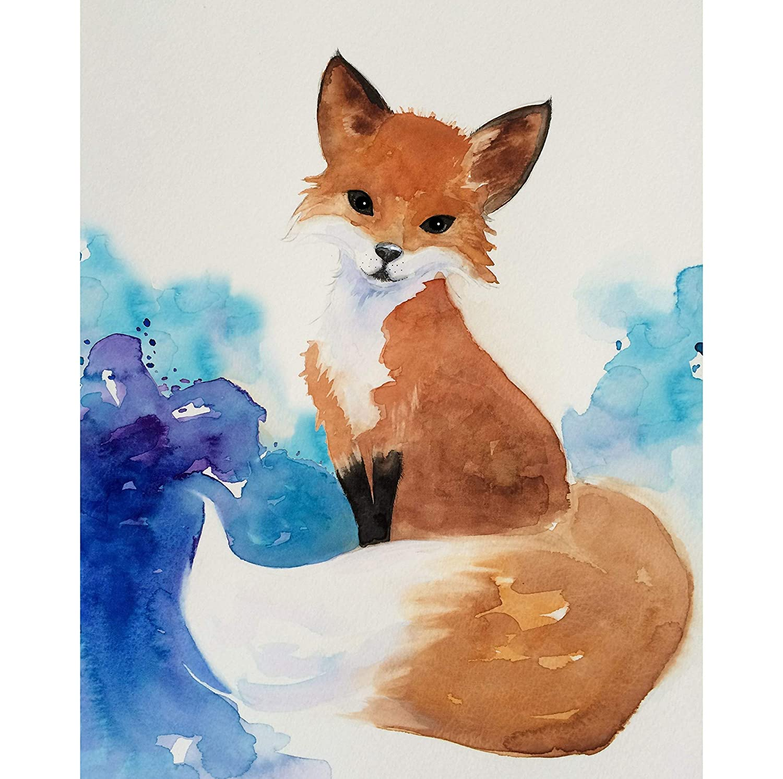 Fox 8x10 from my original drawing