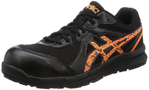 4fca8db2ff2 Asics working safety shoes work shoes Win job FCP106 9009 black   orange  pop 22.0