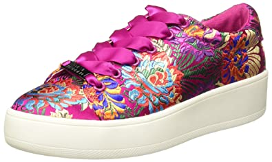 3a1265c543a Steve Madden Women's Brody Magenta Sneaker 8.5 US: Buy Online at Low ...
