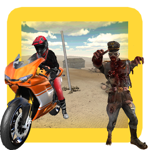[Zombie Hunter Bike] (Walking Zombie)