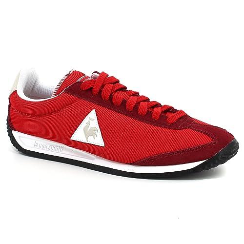 Le Coq Sportif cuarzo Nylon rojo, Rojo (rojo), 41