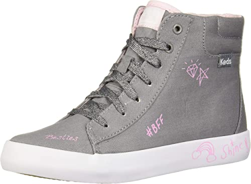 Keds Girls' Double Up High Top Sneakers