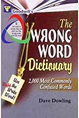 The Wrong Word Dictionary (English Improvement for Success) Paperback