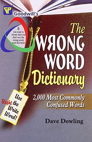 The Wrong Word Dictionary (English Improvement for Success)