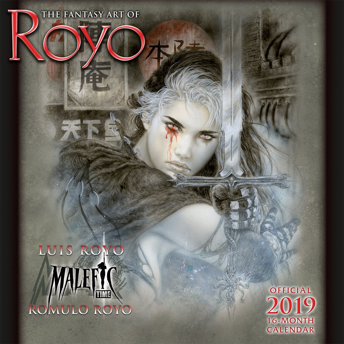 2019 The Fantasy Art of Royo 16-Month Wall Calendar: by Sellers Publishing, 12x12 (CA-0427) Calendar – Wall Calendar, Aug 15 2018 Luis Royo Inc. 1531904270 /