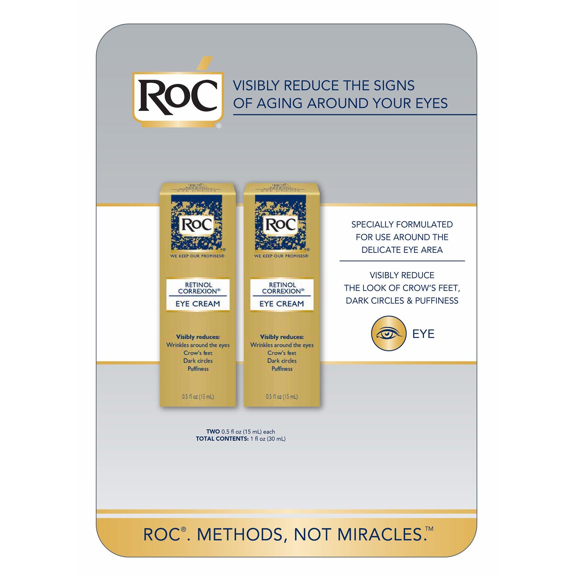 RoC Retinol Correxion Eye Cream 2-pack 0.5 oz (15ml) each