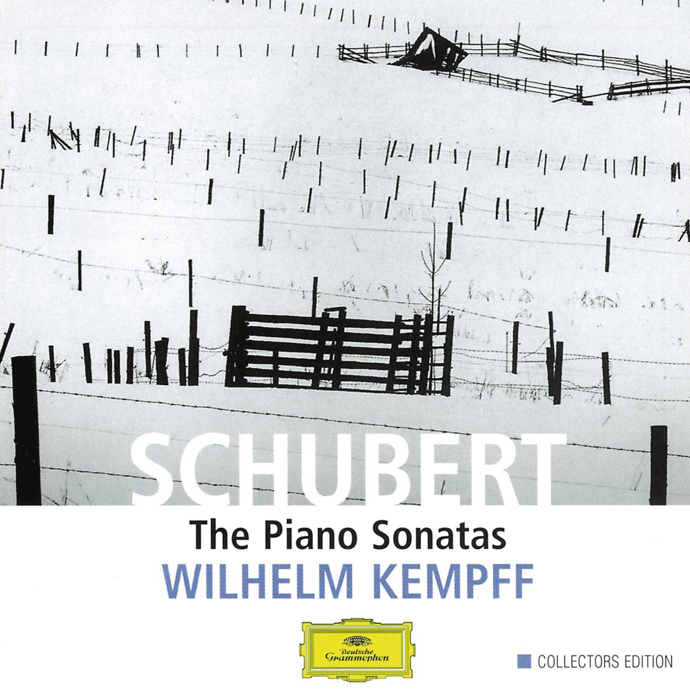 Schubert: Piano Sonatas by KEMPFF,WILHELM