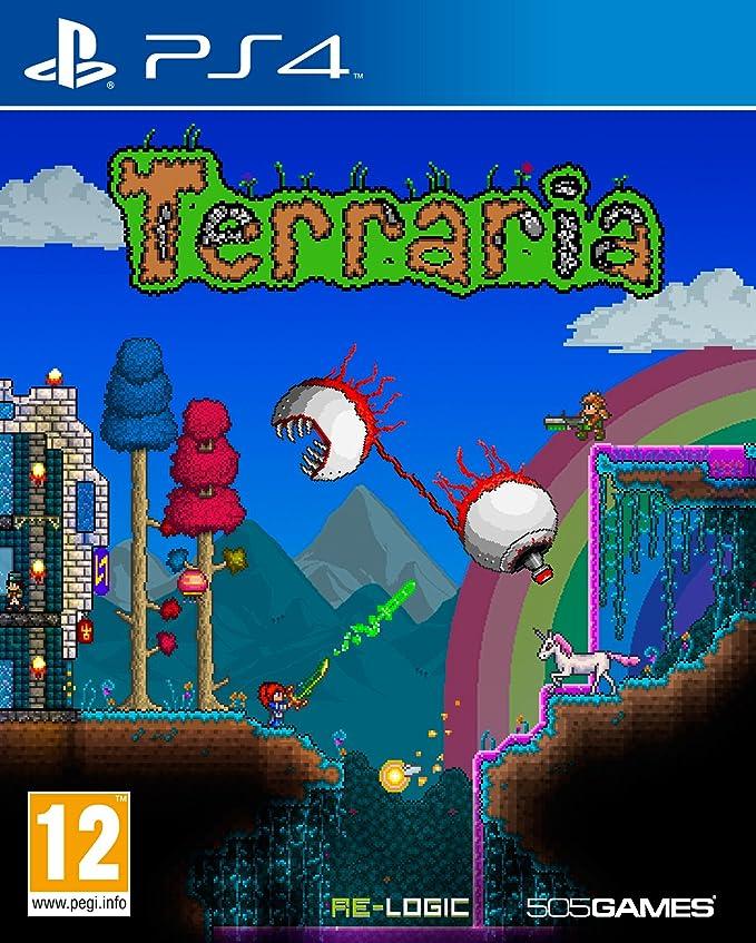 Terraria Ps4 Amazon Pc Video Games