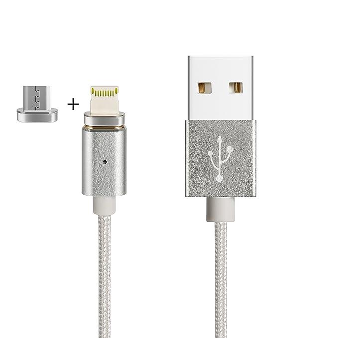 Belker 3 ND generación magnético USB cable cargador 2 en 1 ...
