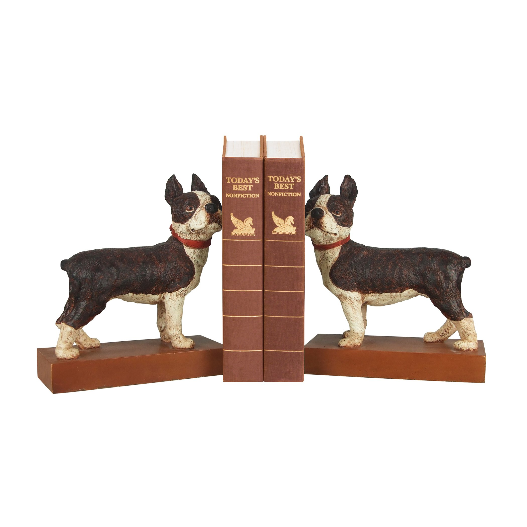 Boston Terrier Bookends - Pair