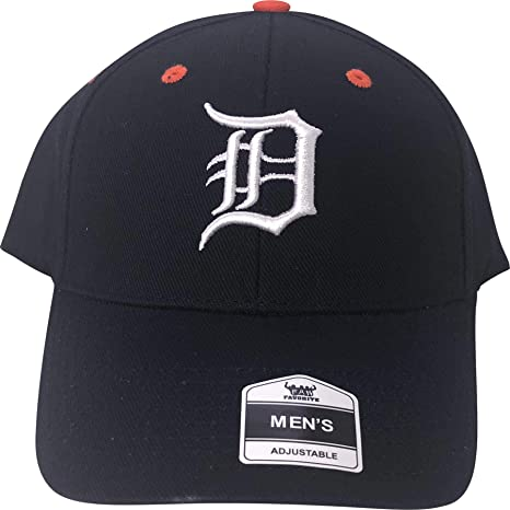 779fdd0b23e Image Unavailable. Image not available for. Color  Fan Favorite MLB Detroit  Tigers Adjustable Hat