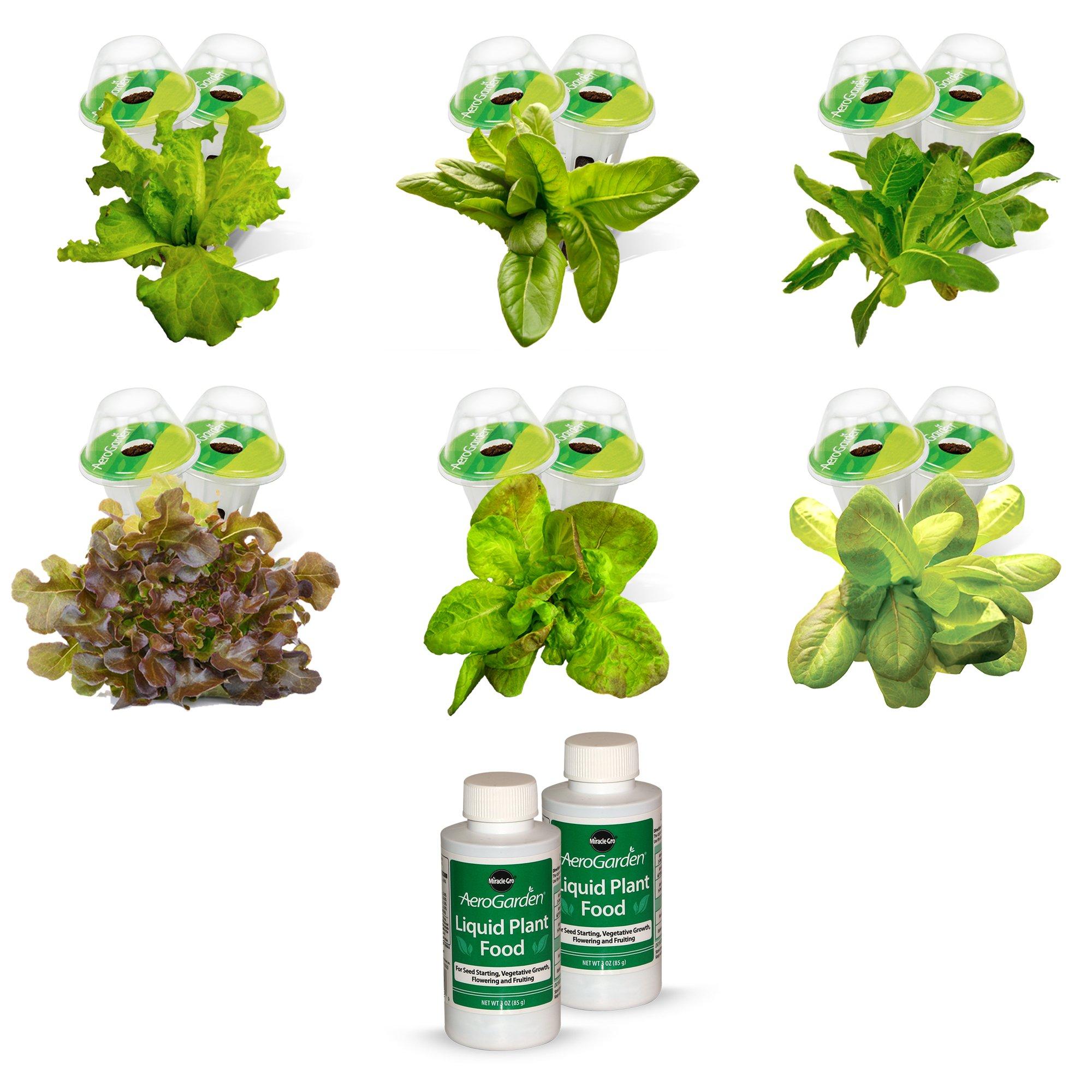 AeroGarden Heirloom Salad Greens Seed Pod Kit (for Farm/Farm Plus Models)