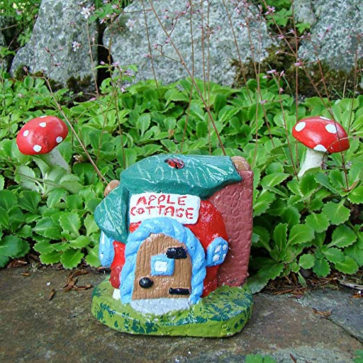 Fée de jardin Maison ~ Apple Cottage: Amazon.es: Jardín