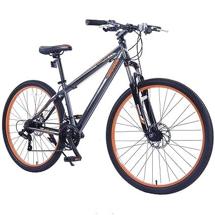 GTM 27.5u0026quot; Menu0027s Mountain Bike Shimano Hybrid Bicycle ...