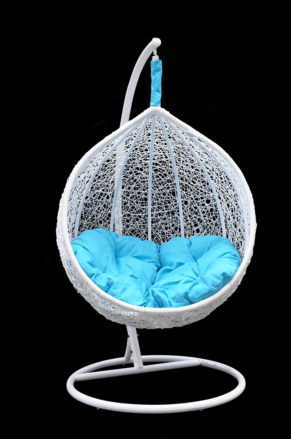 Amazon.com : Ceri   Vibrant Outdoor Swing Chair Great Hammocks   Model    CW003 WT : Hanging Chair : Garden U0026 Outdoor