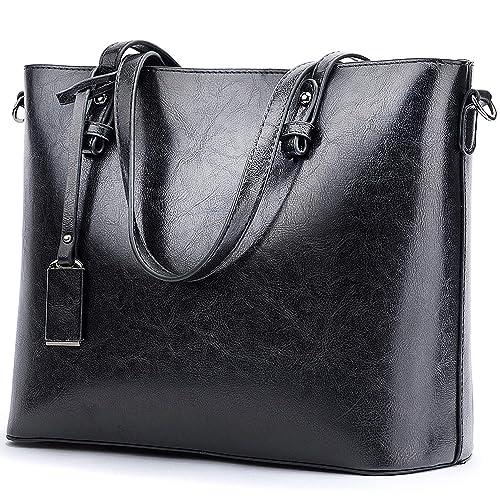 BNWVC Women Top Handle Satchel Handbags Tote Purse Shoulder Bag ... f971617e9b581