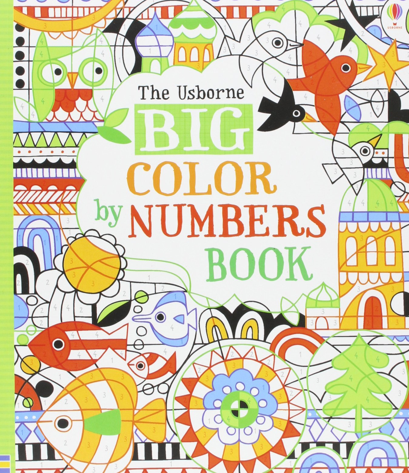 Big Color by Numbers Book: Fiona Watt: 9780794516062: Amazon.com: Books