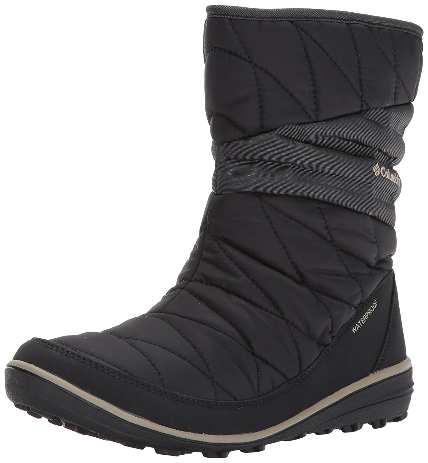 Columbia Woherren Heavenly Slip II Omni-Heat Ankle Stiefel, schwarz, Silber Sage, 8 Regular US