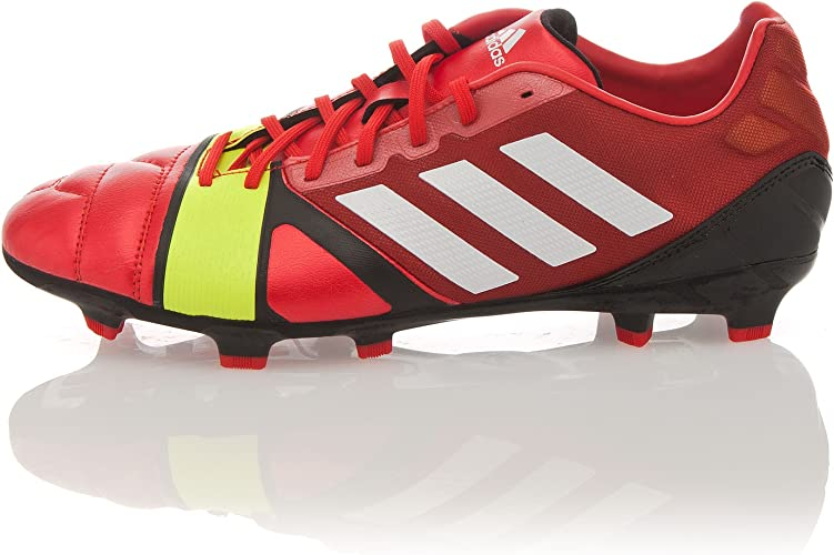 adidas Zapatillas Football Nitrocharge 2.0 TRX Rojo/Amarillo ...