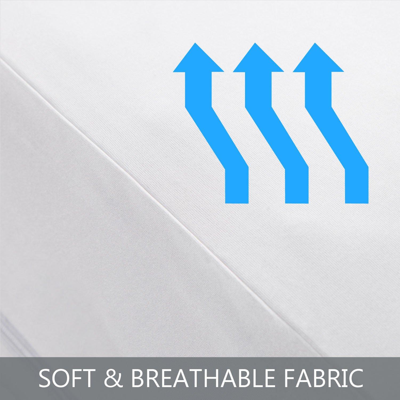 Bedsure Mattress Encasement King Size Mattress Cover Bed Bug Mattress Protector Waterproof Zippered