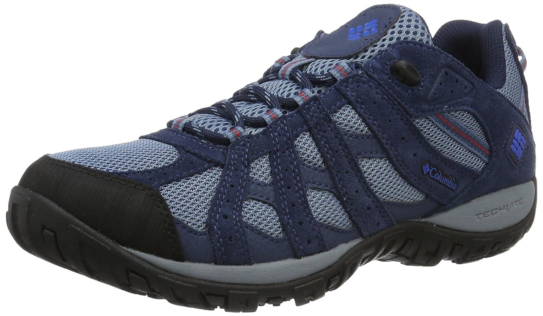 Bleu (Steel, Super bleu 413) Columbia rougemond Waterproof, Chaussures de Randonnée Basses Homme 41 EU