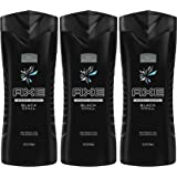 Axe Body Wash, Black Chill, 16 Fluid Ounce (Pack of 3)