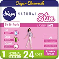 Sleepy Natural Slim Extra İnce Normal, 24 Adet