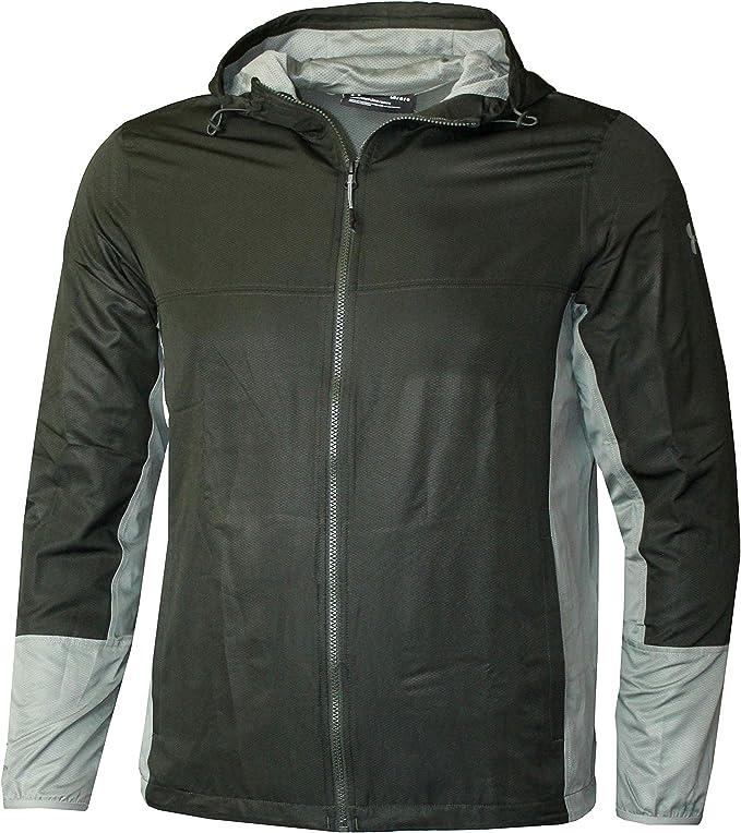 Under Armour Mens Full Zip Coat Training Hooded Jacket Waterproof Windbreaker