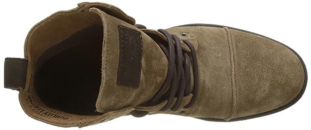Levis Emerson, Botas Biker para Hombre, Marrón (Medium Brown 27), 45 EU: Amazon.es: Zapatos y complementos