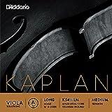 Kaplan Solutions カプラン ソリューション ビオラ弦A線 KS411 LM D'Addario Kaplan Solutions Viola A Long Medium