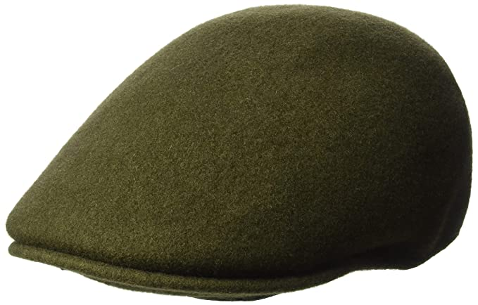 6dcf10138b8 Kangol Hats Seamless Wool 507 Flat Cap - Loden  Amazon.co.uk  Clothing